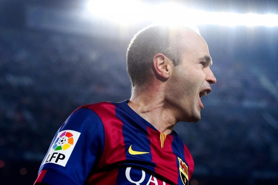 «Барселона» договорилась с Иньестой о продлении контракта