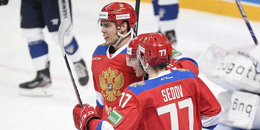 Россия обыграла Финляндию на старте Кубка Карьяла