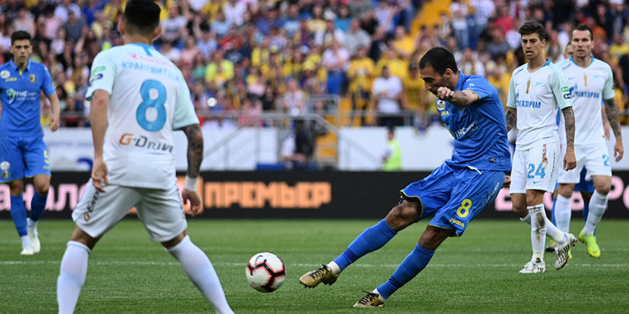 Ивелин Попов забил «Зениту», у чемпиона всего 1 удар в створ. Лучшие моменты