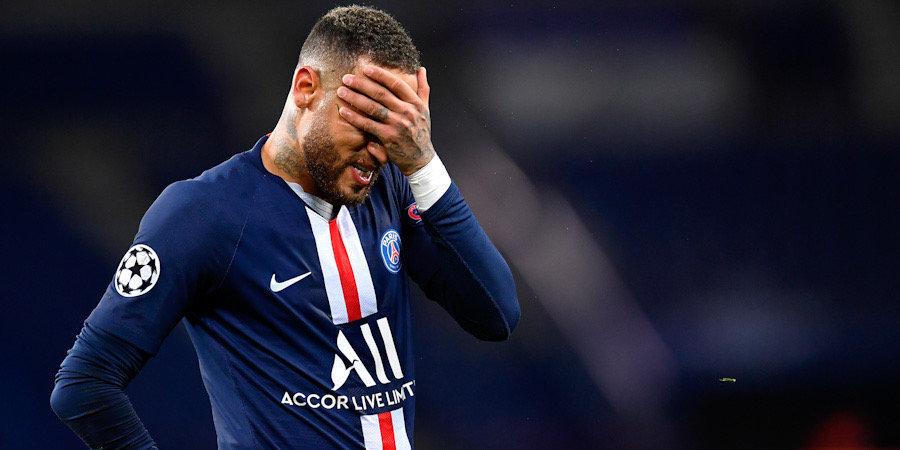 Неймар пропустит три матча Лиги 1 из-за дисквалификации