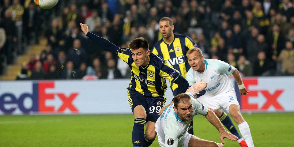 «Зенит» проиграл «Фенербахче» в Стамбуле