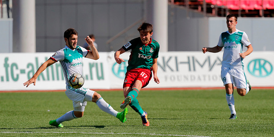 «Ахмат» обыграл «Локомотив» в молодежном первенстве