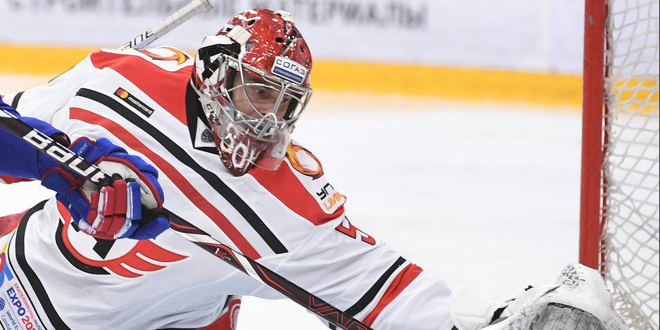 Лидер КХЛ «Автомобилист» получил 5 шайб от СКА в Петербурге