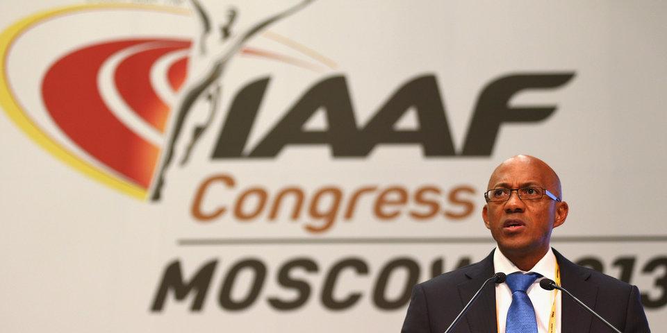 Член совета ИААФ временно отстранен от своих обязанностей из-за подозрений в коррупции