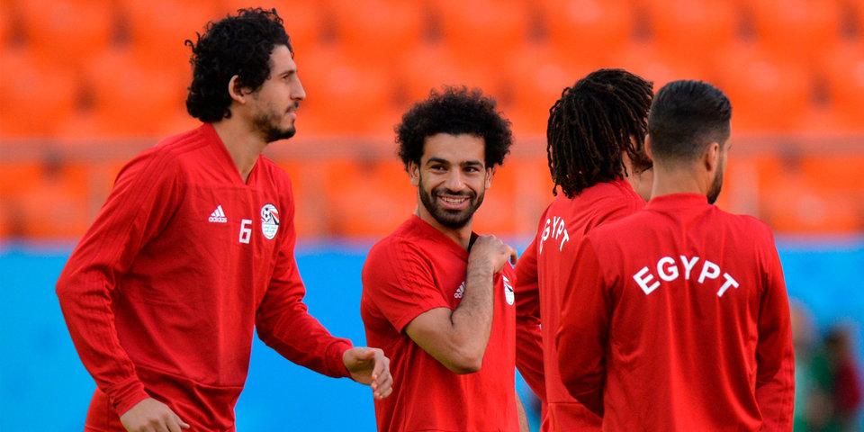 Салах тренируется в общей группе в преддверии матча с Россией