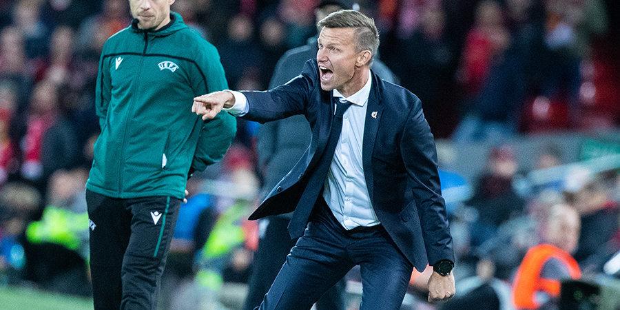 «Слишком много уважения для соперника. Добавим больше жизни». Речь тренера «Зальцбурга» перед камбэком с «Ливерпулем»