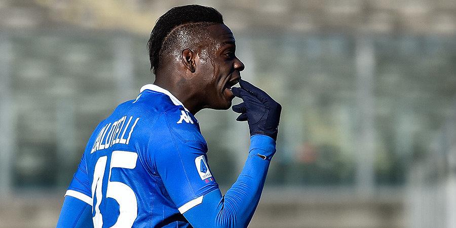 Балотелли приступил к тренировкам в составе клуба из четвертой лиги Италии