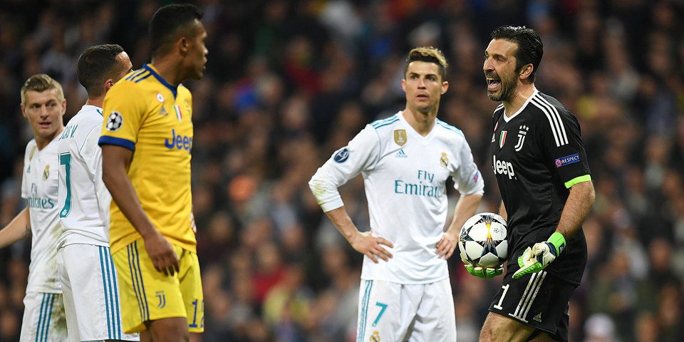 Три гола «Юве», пенальти и удаление Буффона на 93-й минуте. Скандальная концовка в Мадриде