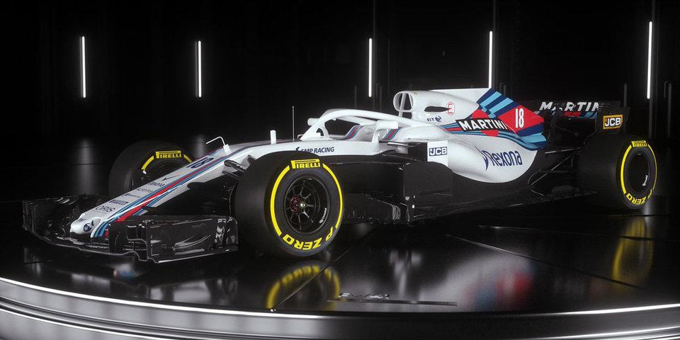 «Уильямс» представил болид Сироткина на новый сезон «Формулы-1»