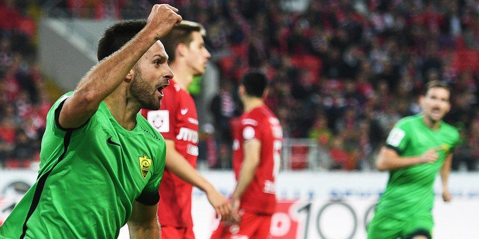 «Спартак» дома спасает ничью с последней командой чемпионата: голы и лучшие моменты
