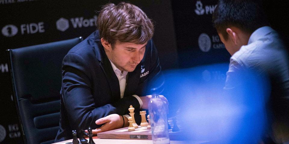 Сергей Карякин: «Онлайн-турниры нельзя назвать баловством»