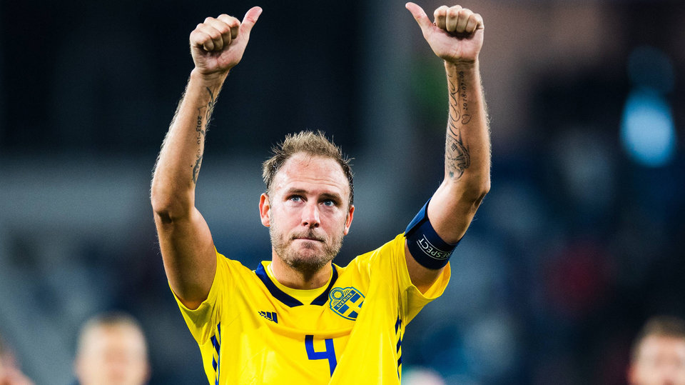 Гранквист не будет играть за Швецию в следующем розыгрыше Лиги наций
