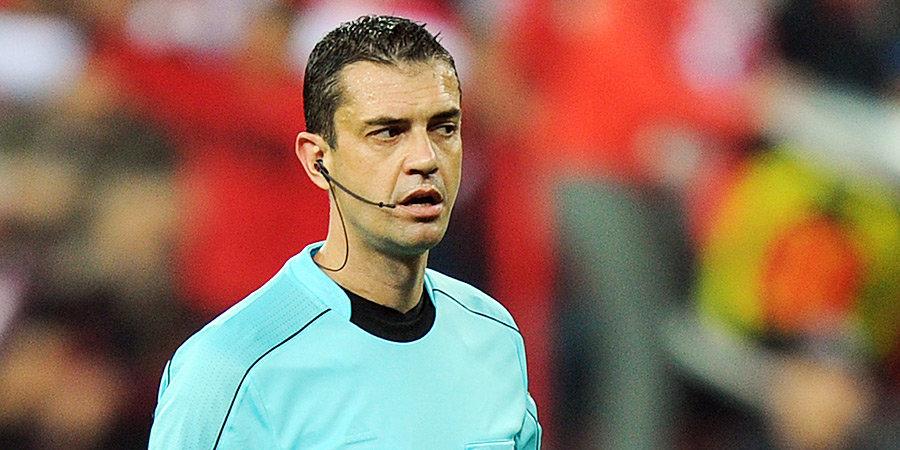 Кашшаи признал, что Казарцев совершил ошибку, назначив пенальти в ворота «Спартака»