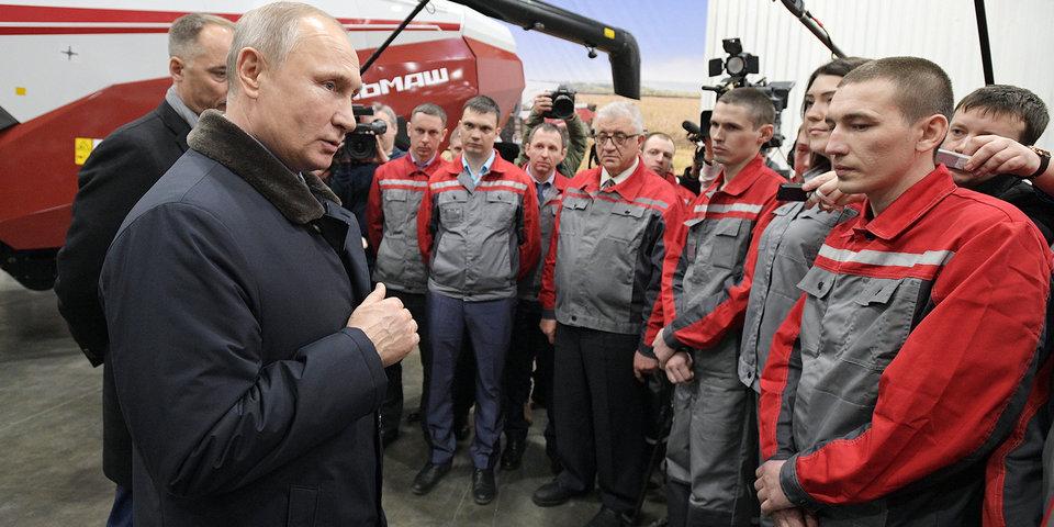 Владимир Путин: «С  нашей стороны не должно быть эйфории»