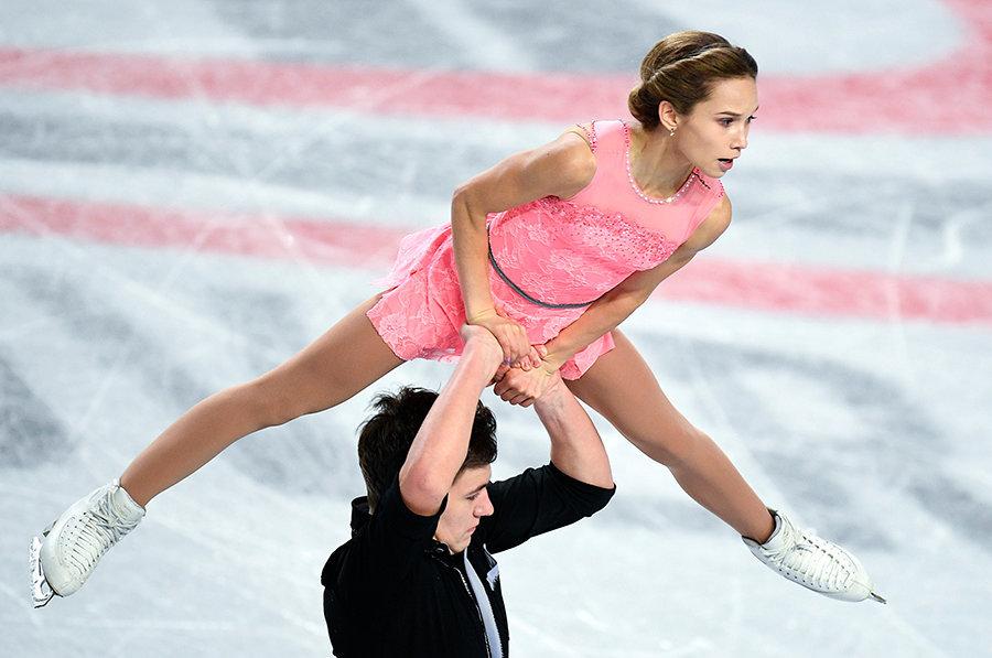 Павлюченко и Ходыкин идут вторыми после короткой программы на этапе Гран-при в США