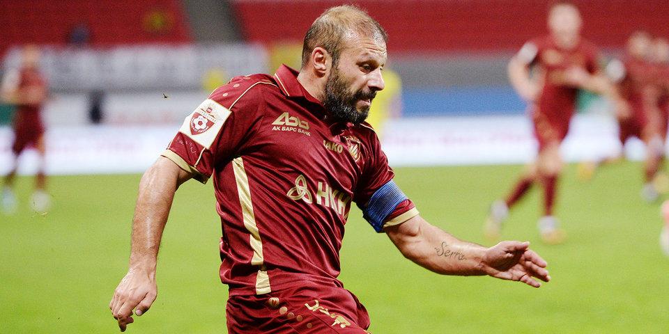 «Рубин» и «Уфа» сыграли вничью в Казани в последнем матче Карадениза