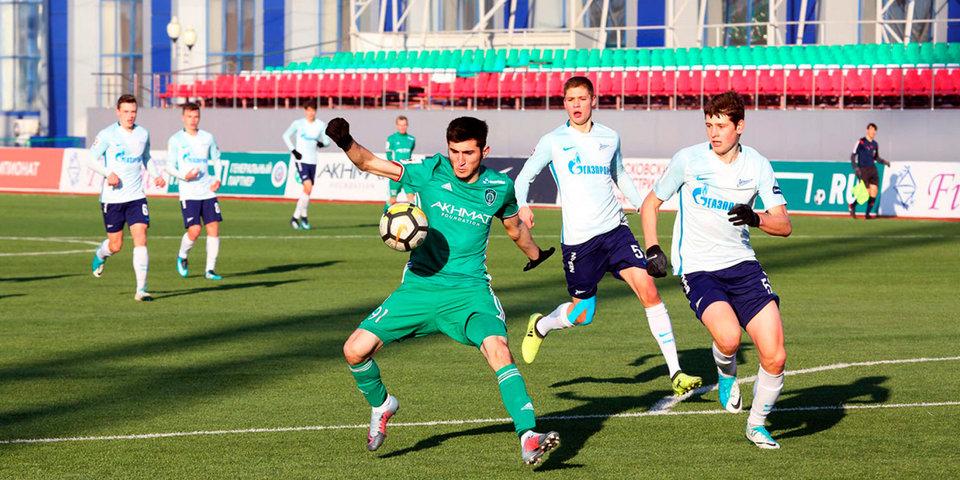 «Зенит» навыезде забил 5 мячей «Ахмату»