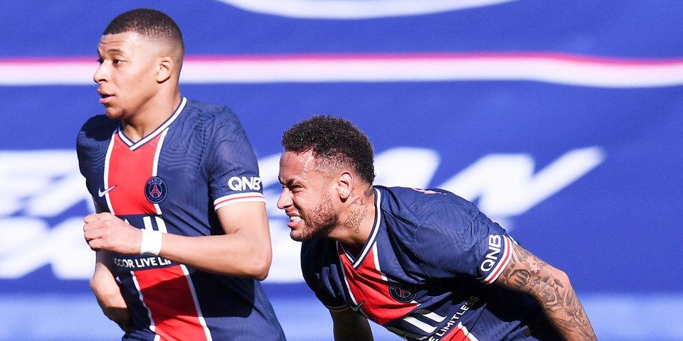 Мбаппе и Неймар не сыграют в матче за Суперкубок Франции