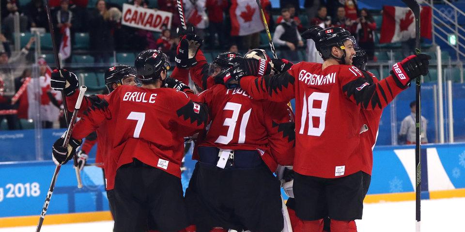 Канадцы победили финалистов ОИ-2018 и заняли третье место в группе