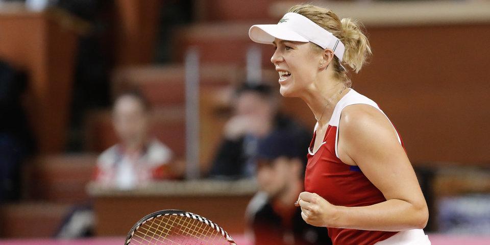 Павлюченкова опустилась на 44-е место рейтинга WTA, Касаткина — 21-я