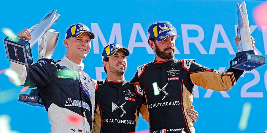 Возвращение чемпиона и жесткая борьба. Как прошла пятая гонка «Формулы-Е»