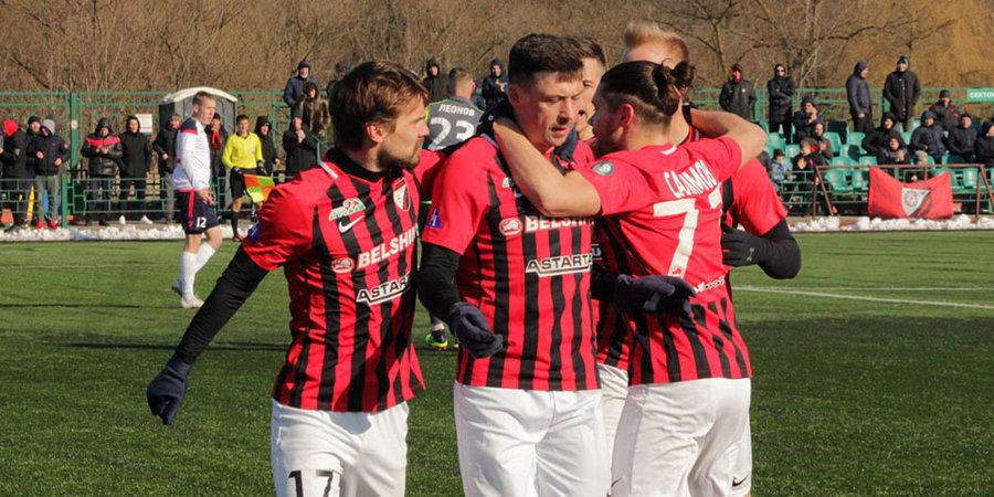 Последняя команда чемпионата Белоруссии обыграла «Торпедо-БелАЗ»