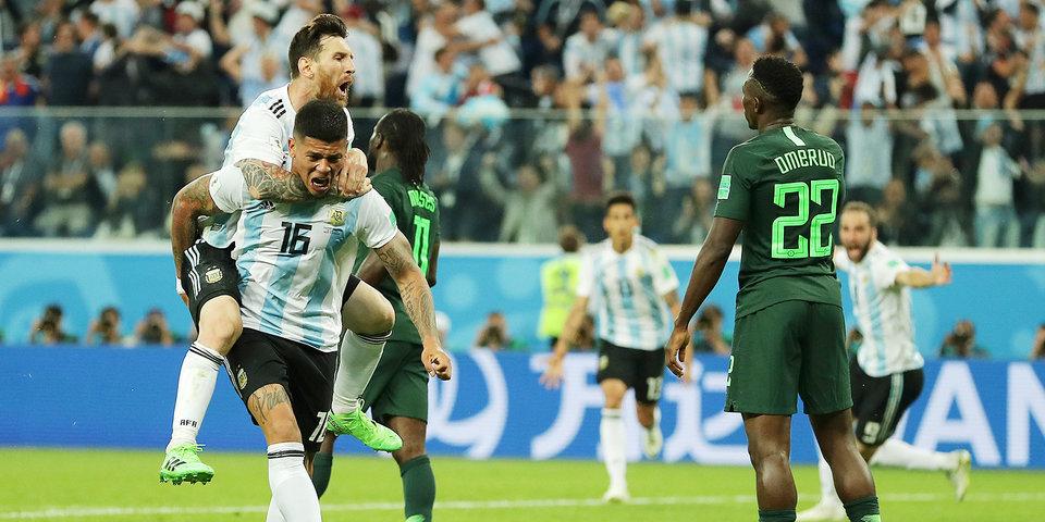 ЧМ-2018. Месси и Рохо вывели Аргентину в плей-офф, Исландия и Нигерия покинули турнир. Как это было