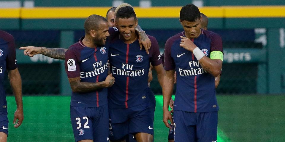 Гол и передача Дани Алвеса принесли «ПСЖ» победу в Суперкубке Франции