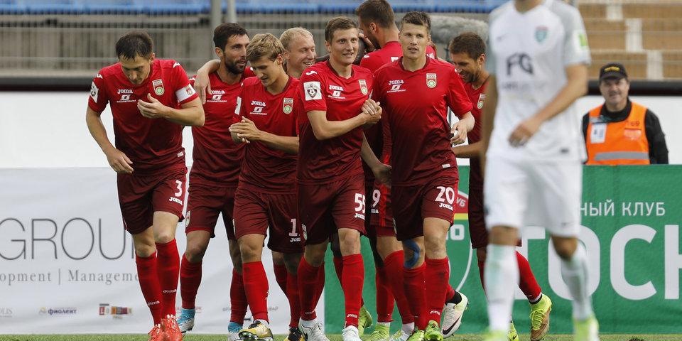 Игбун и Кротов — в составе «Уфы» на дебютный матч в Лиге Европы