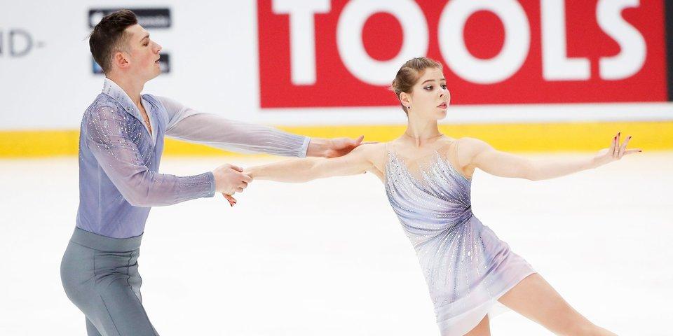 Российские фигуристы Мишина и Галлямов выиграли Finlandia Trophy