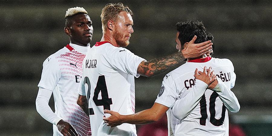 Лидер Серии А «Милан» ушел от поражения «Вероне», Ибрагимович не смог реализовать пенальти