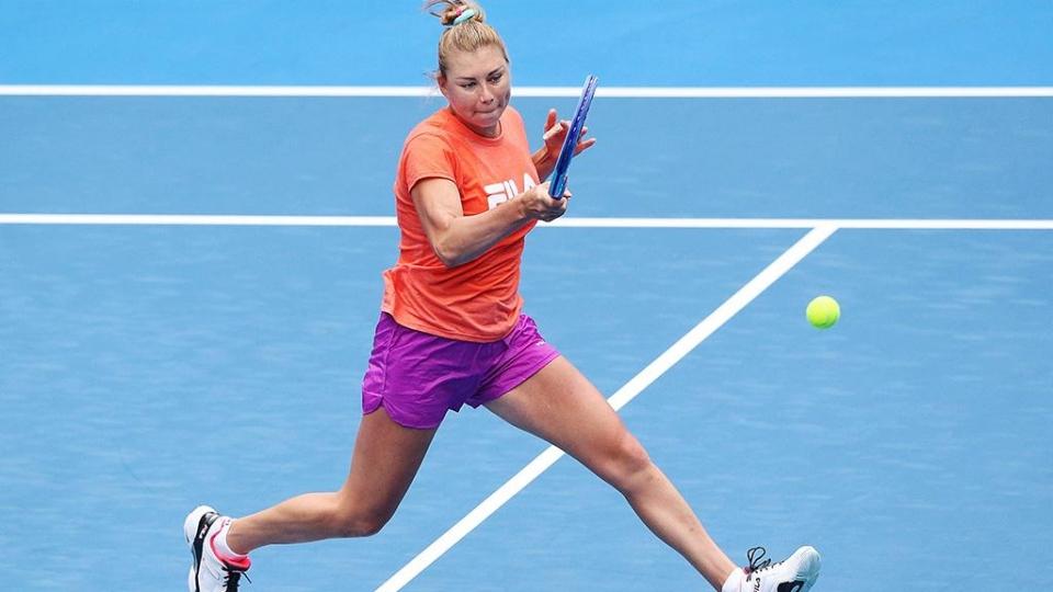 Звонарева взлетела на 110 позиций в рейтинге WTA