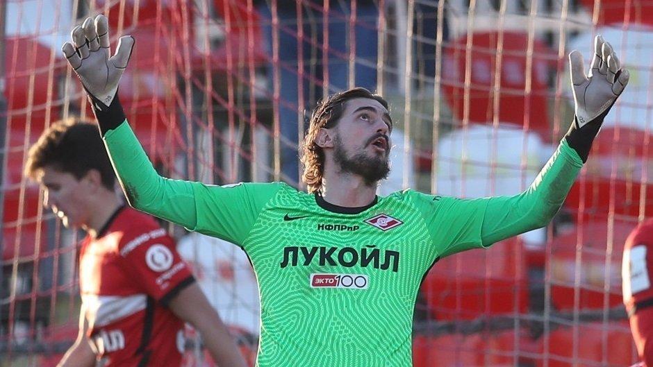Вратарь Романьоли покинет «Спартак». Он не провел ни одного матча за основную команду
