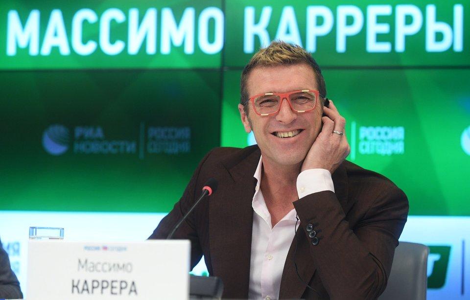 «В России я не чувствовал, что мне не хватает Италии». Каррера пообещал вернуться в Москву
