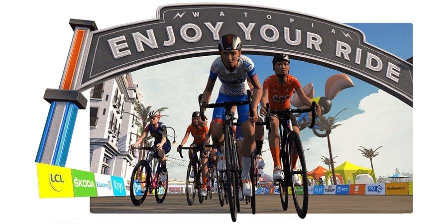Велогонка «Тур де Франс» пройдет в онлайн-игре