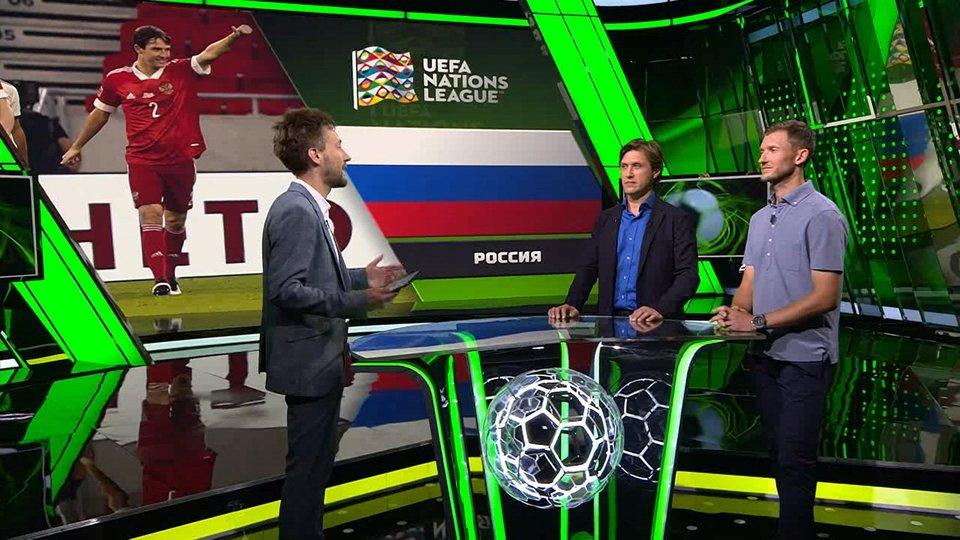 «Дзюба в национальной команде иногда играет ярче, чем в «Зените». Разбор матчей сборной в «Тотальном футболе»