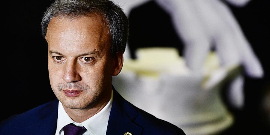 Аркадий Дворкович: «У сборной России пока нет игры, но есть месяц, чтобы подготовиться к решающим матчам»