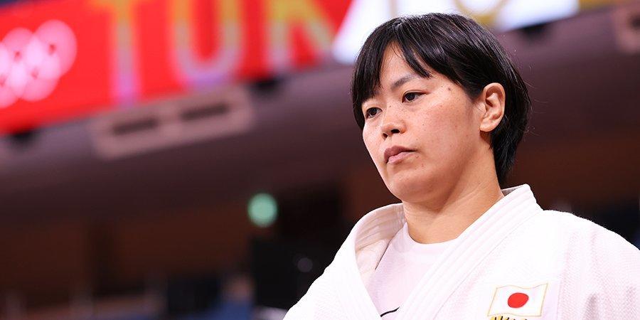 Хамада стала олимпийской чемпионкой по дзюдо в весе до 78 килограммов