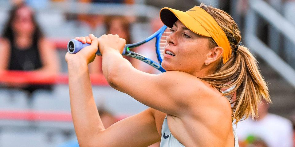 Шарапова вошла в список кандидатов в сборную России по теннису на 2019 год