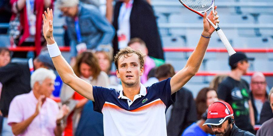 Надаль разгромил Медведева в финале турнира в Монреале