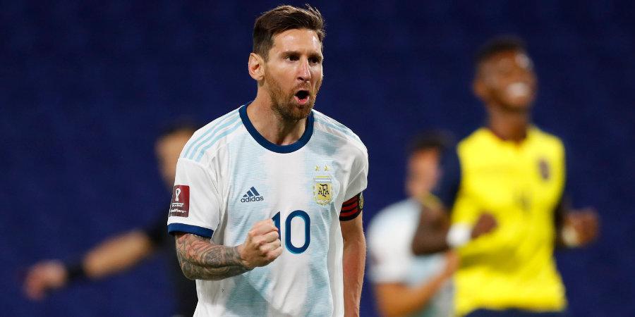 Месси вышел на первое место по количеству побед в истории сборной Аргентины