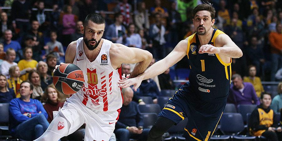 «Химки» одержали важную победу в битве за плей-офф Евролиги, «Зенит» проиграл в Греции. Главное