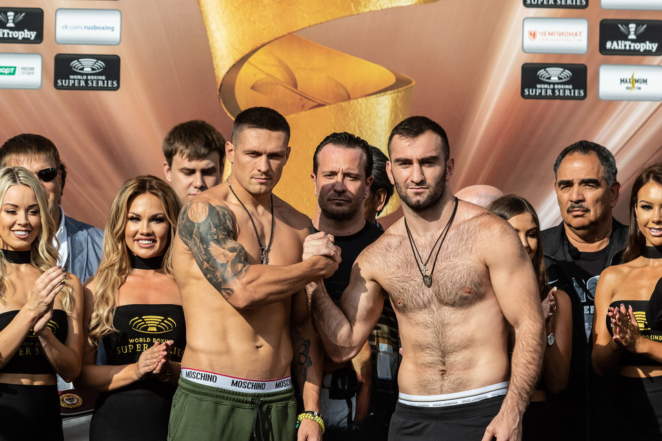 Федерация бокса России потратила 13 миллионов долларов на бой Усик – Гассиев
