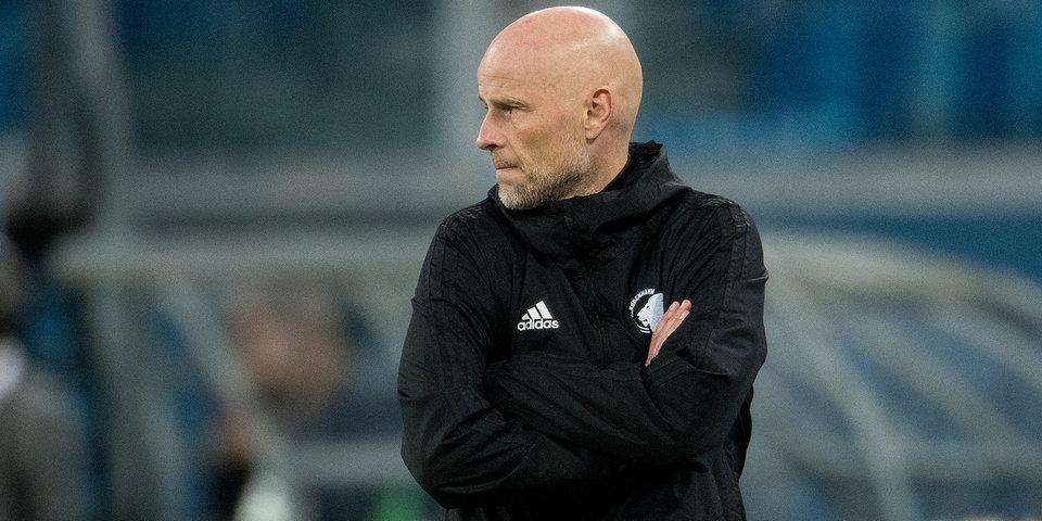 Главный тренер «Копенгагена» сорвал пресс-конференцию после матча с «Зенитом»