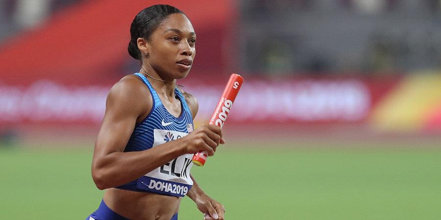 WSF признал Эллисон Феликс лучшей спортсменкой года