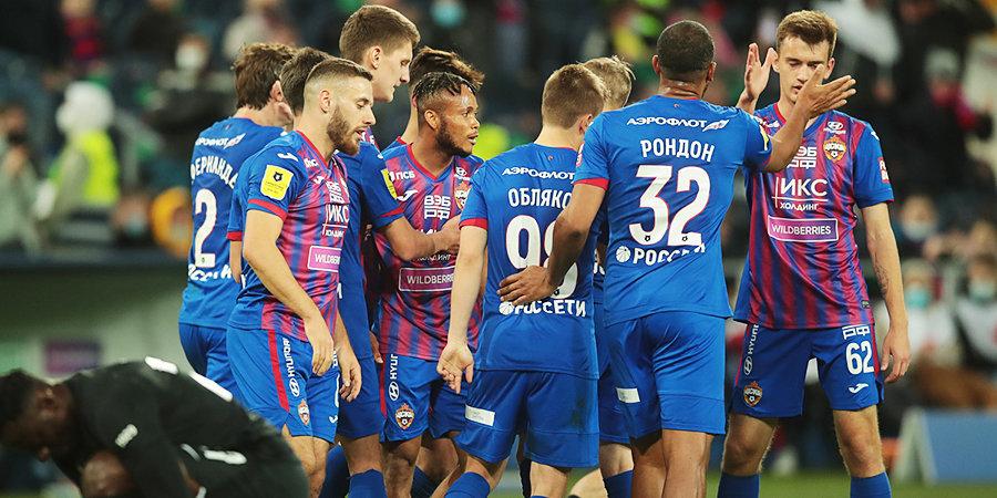 ЦСКА уверенно обыграл «Ротор» в первом домашнем матче Олича