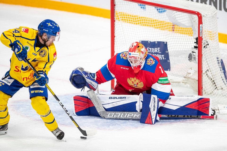 Владислав Третьяк: «Правильно, что Аскарова не меняли на Кубке Карьяла, он помог сборной России одержать победу на турнире»