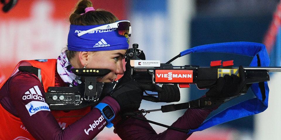 Казакевич выиграла серебро на Кубке IBU, Сливко — бронзу