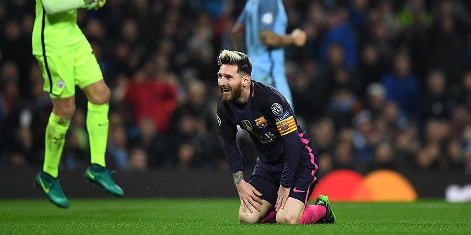 «Барселона» делает все, чтобы пропустить от «Манчестер Сити»