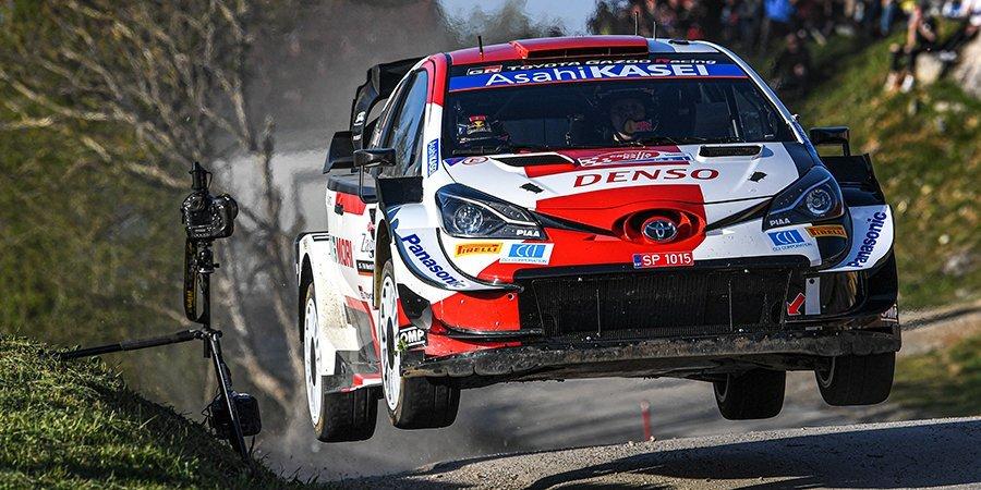 Ожье выиграл третий этап WRC с преимуществом в 0,6 секунды. На спецучастке гонщик попал в ДТП и уехал от полиции